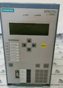 Siemens Siprotec 7sj62 Over Current Protection And Control