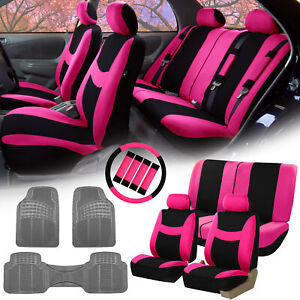 Car Suv Seat Covers For Auto W Accessories Gray Floor Mats 12 Color Options