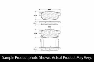 Stoptech Street Brake Pads Rear Acura Integra Gs r Gs Ls 90 01 Civic Si 99 00