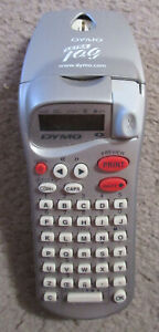 Dymo Letra Tag Label Maker With Some Tape