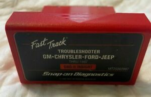 Snap On Scanner Mt25002997 Fast Track Troubleshooter Gm Chrysler Ford Jeep