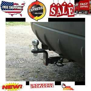 Class 1 Trailer Hitch Ball Mount Fits 1 1 4 inch Receiver 2000 Lbs 3 4 Hole Tow
