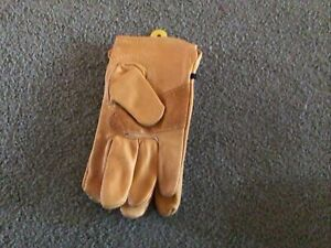 Wells Lamont Premium Cowhide Leather Work Gloves Size S