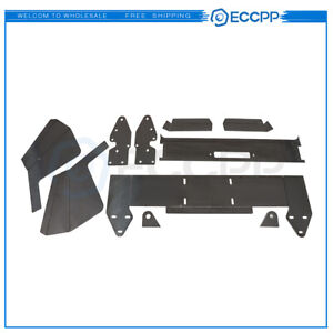 Eccpp For Jeep Cherokee 1984 01 Front Bumper Bare Kit Winch Mount Plate