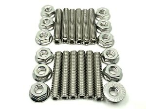 Sbf Valve Cover Stud Kit Bolts Stainless Steel Small Block Ford 289 302 351w