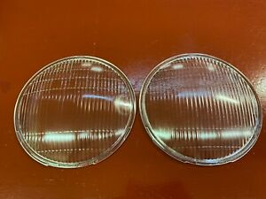 Chevrolet Car Truck Gmc Headlamp Lens Pair 8 3 4 1932 1933 1934 1935 1936