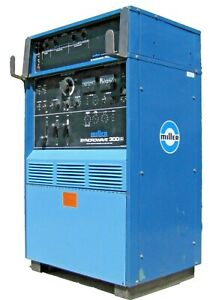Miller Syncrowave 300 s Tig Stick Arc Welder With Programmer Sp 1