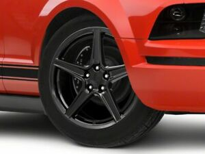 American Muscle Saleen Wheel In Black 19x8 5 Fits Mustang 2005 2009 Gt V6
