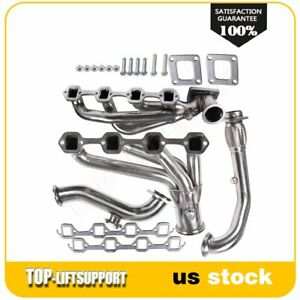For 1985 1991 Ford Mustang Lx gt Racing Turbo Manifold Exhaust cross Pipe