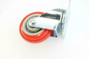 Rubber Wheel Casters Red gray