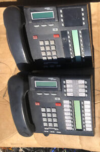Nortel Networks T7316e Charcoal Business Office Phone Used