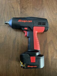 Snap On 1 2 Cordless 18v Impact Wrench Ct3850 W Battery Very Clean