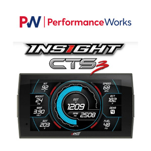 Edge 84130 3 Insight Cts 2 Monitor For Ford Gmc Chevy Dodge Ram Cts2 Obd Ii