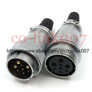 Weipu Ws32 4 19pin Industrial Connector high Voltage Aviation Docking Plug