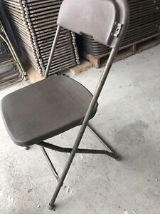 Used Brown Rental Chairs Lot 100