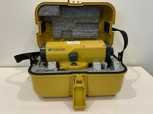 Topcon At b4a 24x Automatic Optical Level That Is Calibrated And Ready To Go