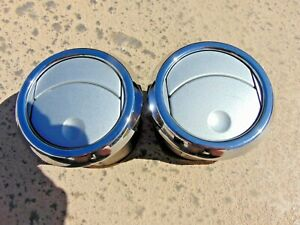 2005 09 Ford Mustang Dash A c Heater Air Vents Silver Chrome 2 Total Oem