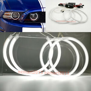 Ccfl Halo Rings For Ford Mustang Gt 2013 2014 Hid Headlight Fog Light Angel Eyes