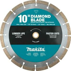 10 Inch Segmented Rim Diamond Blade For General Purpose For Gas Powered Saws