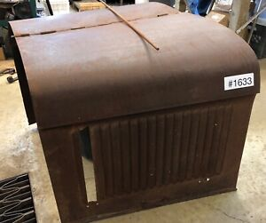 Ford Model A Chevrolet Rat Rod Hood Top Sides W Rod Size 4 Your Build