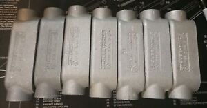 Crouse Hinds T29 3 4 Condulet Conduit Outlet Body Lot Of 7