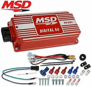 Msd Ignition Box 6a Digital Capacitive Discharge Universal Points Electronic