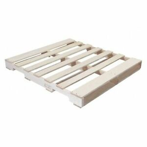 Partners Brand Cpw4842h New Wood Heat Treated Pallet 48x42 natural Wood pk10