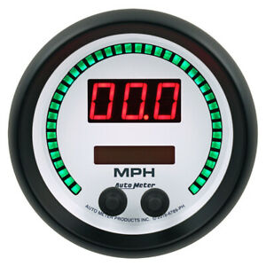 Autometer 6789 ph Electrical Phantom Speedometer Gauge 260kmh