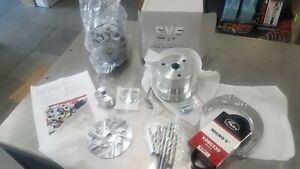 Chevy Small Block Serpentine Conversion Alternator Only Electric Water Pump