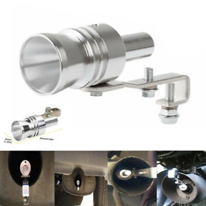 Car Turbo Sound Blow Off Valve Noise Whistle Simulator Muffler Tip Accessories