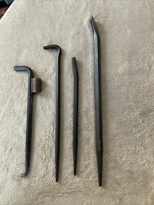 Matco Pry Bar Set 4pc