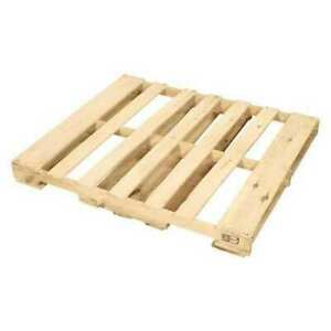 Partners Brand Cpw4840h New Wood Heat Treated Pallet 48x40 natural Wood pk10