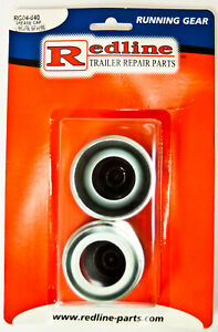 One Pair Of Trailer Grease Caps 1 986 With Plugs Rg04 040