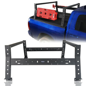 Truck High Bed Rack Steel Luggage Baggage Carrier Fit Dodge Ram 1500 2009 2018