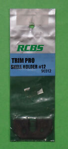RCBS Trim Pro Shell Holder #12 90312 NOS in package $12.49