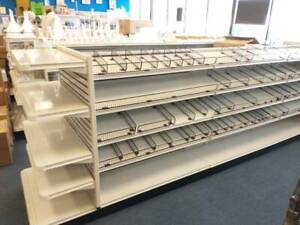 Store Shelving Unit W Dividers