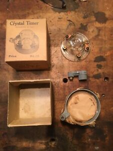 Model T Ford Crystal Glass Distributor Cap Ignition Timer Nos W Box
