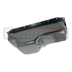 64 87 Chrysler Mopar 273 318 340 Black Oil Pan Sb V8 Stock Front Stump Hot Rod