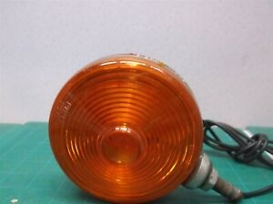 Dietz 275 265 Two Way Lamp Light Vintage Istp61 Red Orange Lens Antique