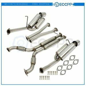 Dual Path Catback For Nissan 350z 3 5l Exhaust System