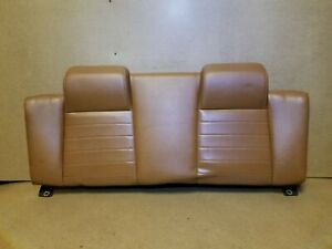 10 11 12 13 14 Ford Mustang Convertible Rear Seat Upper Back Cushion Oem