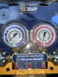 Yellow Jacket Manifold Test And Charging