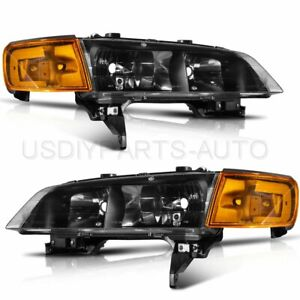 For 1994 1997 Honda Accord Direct Replacement Headlights Assembly Fo2503215 31
