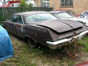 1960 1961 1962 1963 Chrysler Imperial Coupe 2 Door Rear Window Rear Glass Back