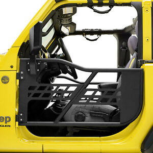 Safari Replacement Tube Door With Mirror Fit For 18 20 Jeep Wrangler Jl 2 Dr