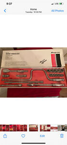Snap On Tools 18 Piece 3 8 Sae Sealed Socket Wrench Set 218fsap 6 Point Set