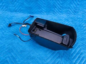 Bmw 750 7 series Center Console Phone Cradle W Cables 2009 2015 Oem