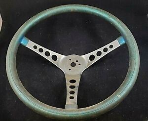 Vintage Blue Sparkle Metalflake Superior Products The 500 Steering Wheel