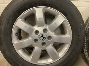 4 Honda Cr V Wheels And Brand New Tires 225 65r17 102 Rating Fits Any 5 Lug Suv