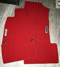 Honda 16 20 Civic 2 Dr Si Red Hfp Carpet Mats Oem New 08p15 tbj 110a
